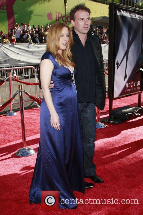 Gillian Anderson and Mark Griffiths World Premiere of...