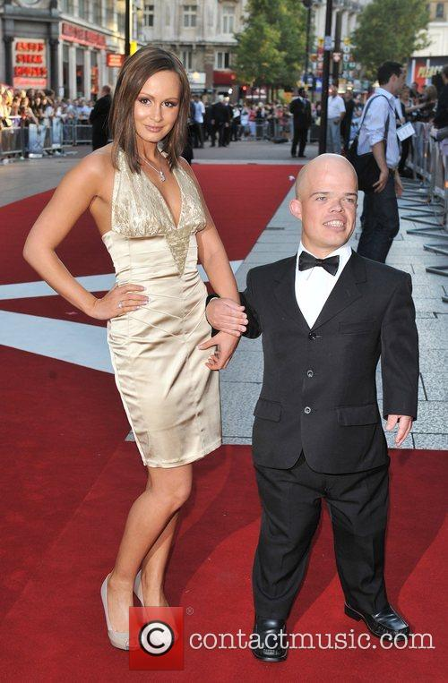 Chanelle Hayes and guest UK Premiere of 'The...
