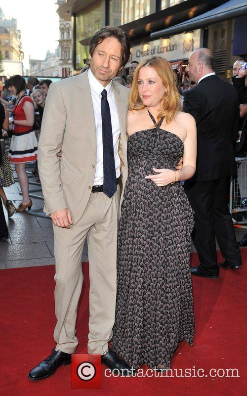 Gillian Anderson and David Duchovny 5