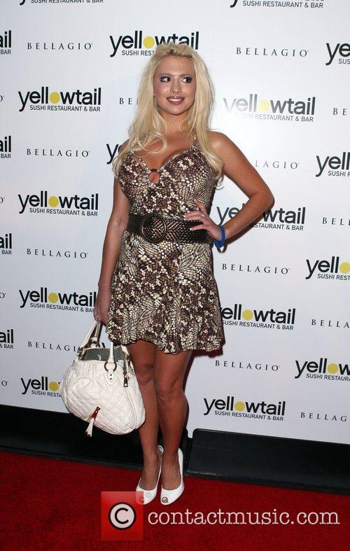 Destiny Davis Grand opening celebration for Yellowtail Sushi...