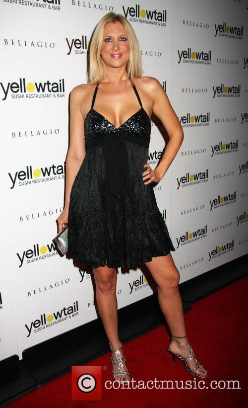 Janelle Perry Grand opening of Yellowtail Sushi Restaurant...