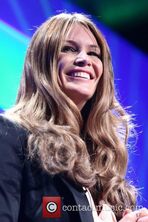 Elle Macpherson The Yorkshire International Business Convention at...