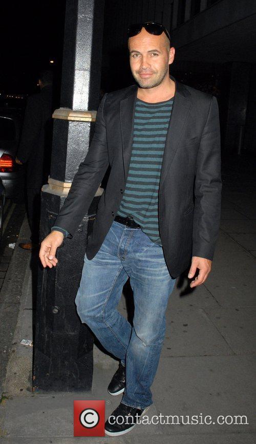 Billy Zane leaving the Sanderson Hotel. London, England