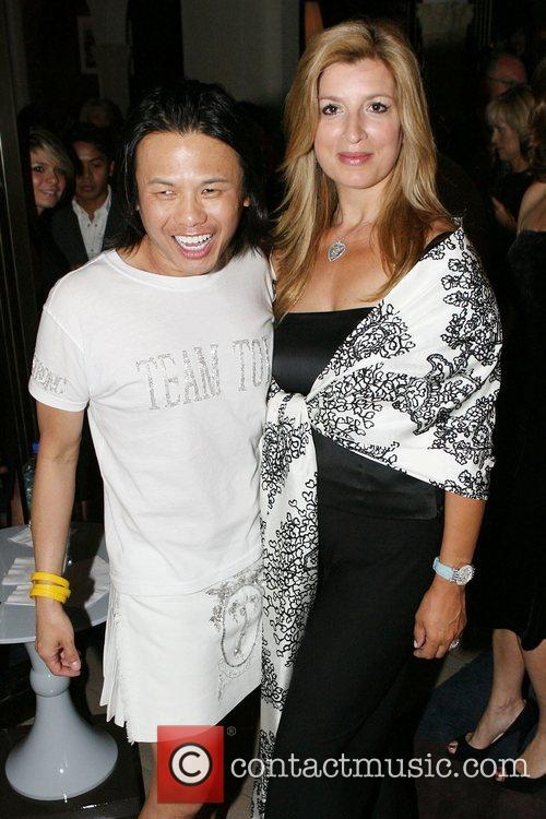 Zang Toi and Lance Armstrong 1