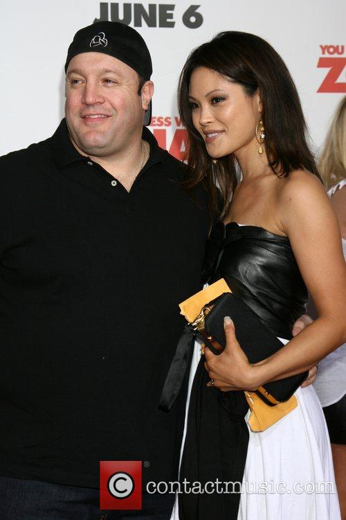 Kevin James and wife World premiere of 'You...