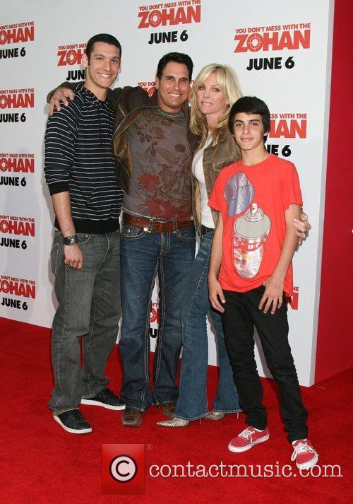 Don Diamont, wife Cindy Ambuehl and family World...
