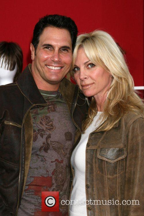 Don Diamont and wife Cindy Ambuehl World premiere...