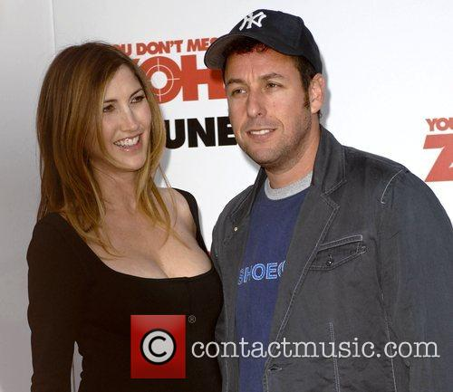 Adam Sandler and his wife Jackie Sandler World...