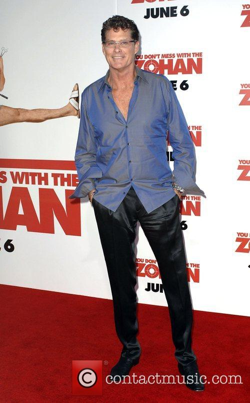 David Hasselhoff World premiere of 'You Don't Mess...