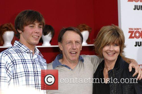 Director Dennis Dugan and family World premiere of...