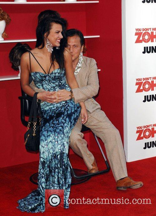 Rob Schneider and Natalia
