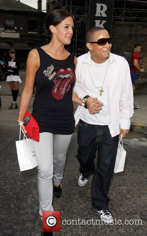 Danielle Lloyd and Dj Ironik 5