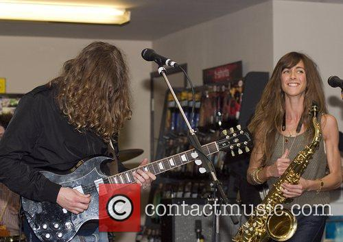 The Zutons and David Mccabe 2