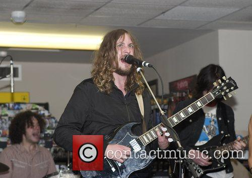 David McCabe of The Zutons Promoting their new...