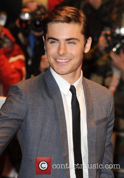 Zac Efron and Odeon West End 11