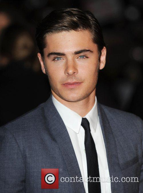 Zac Efron and Odeon West End 7