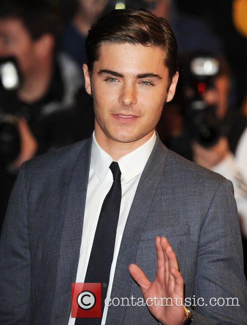 Zac Efron and Odeon West End 8