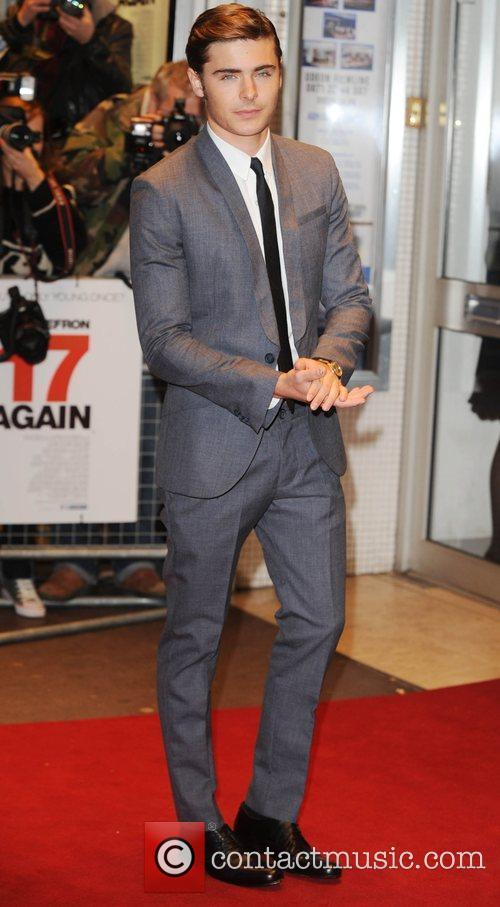 Zac Efron and Odeon West End 5
