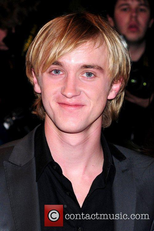 Tom Felton UK premiere of '17 Again' held at the Odeon West End -