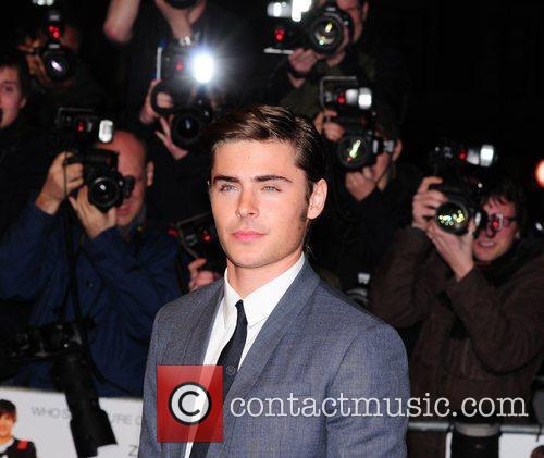 Zac Efron and Odeon West End 14