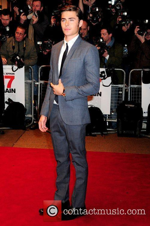 Zac Efron and Odeon West End 13