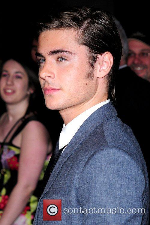 Zac Efron and Odeon West End 17