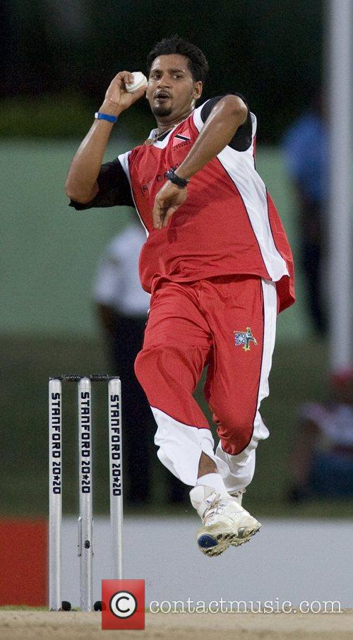Ravi Rampaul - Trinidad and Tobago v Middlesex during the