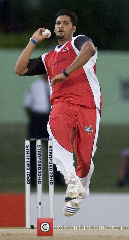 Trinidad and Tobago v Middlesex during the Stanford...
