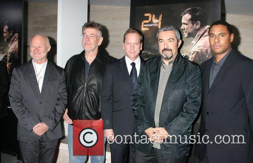 Rodney Charters, Michael Klick, Kiefer Sutherland, Jon Cassar...
