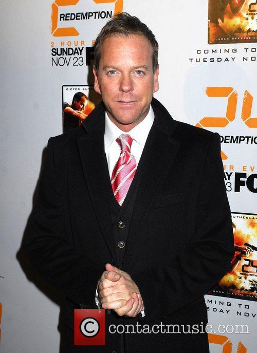 Kiefer Sutherland World Premiere of '24: Redemption' at...