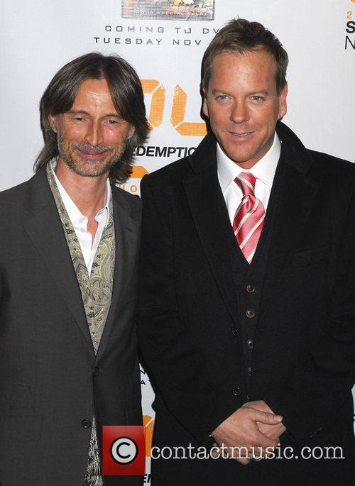 Robert Carlyle and Kiefer Sutherland World Premiere of...