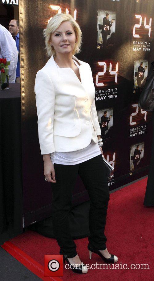 Elisha Cuthbert Screening of the season seven finale...
