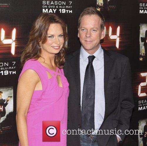 Kiefer Sutherland Mary Lynn Rajskub Screening of the...