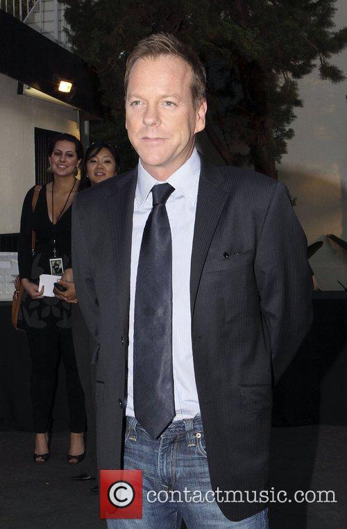 Kiefer Sutherland Screening of the season seven finale...