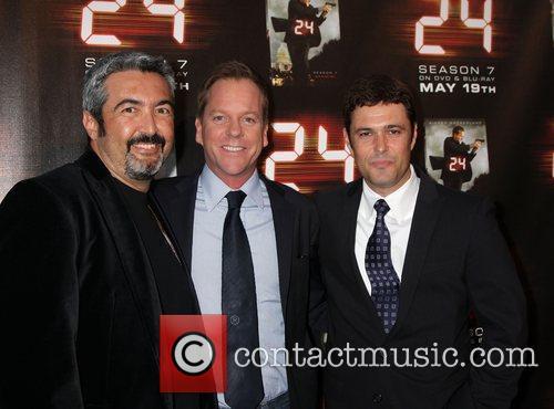 John Cassar, Kiefer Sutherland and Carlos Bernard Screening...