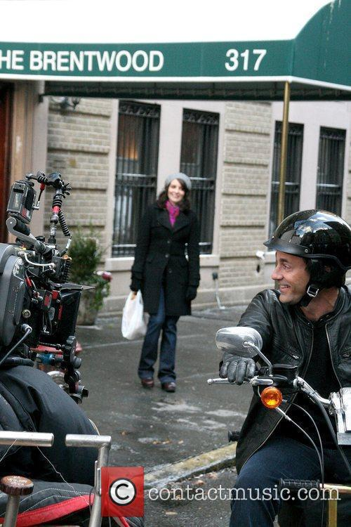 Filming a scene for '30 Rock' in Manhattan