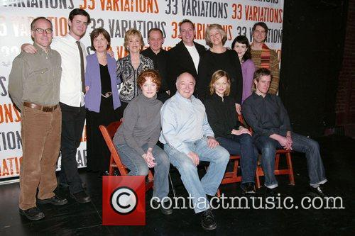 Photocall for the upcoming Broadway play '33 Variations'...