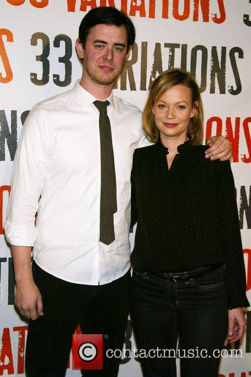 Colin Hanks, Samantha Mathis Photocall for the upcoming...