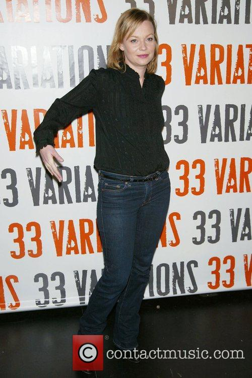 Samantha Mathis Photocall for the upcoming Broadway play...