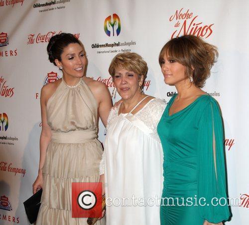 Lynda Lopez, Guadalupe Lopez and Jennifer Lopez