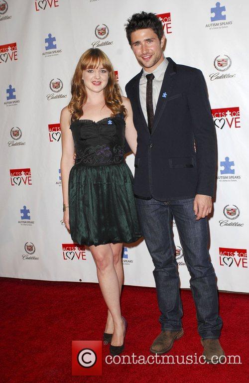 Matt Dallas and April Matson Autism Speaks 6th...