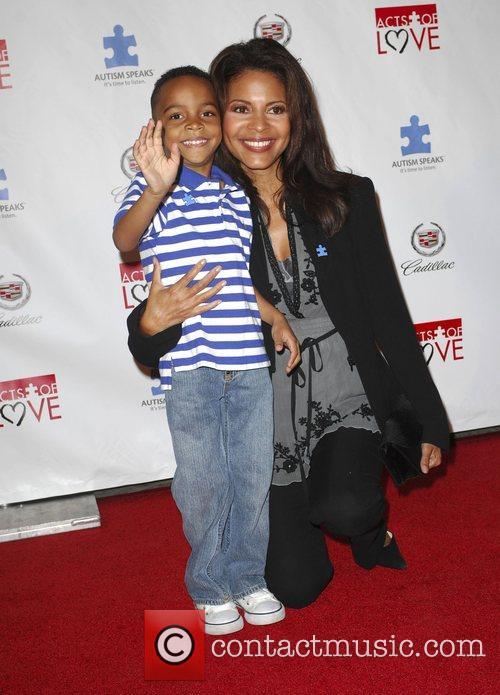 Renee Jones and Terell Ransom Autism Speaks 6th...