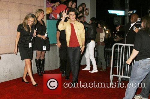 Kevin Jonas of the Jonas Brothers Jonas Brothers...