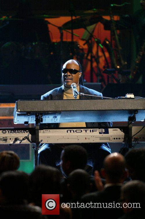 Stevie Wonder at the BET Honors Second Annual...