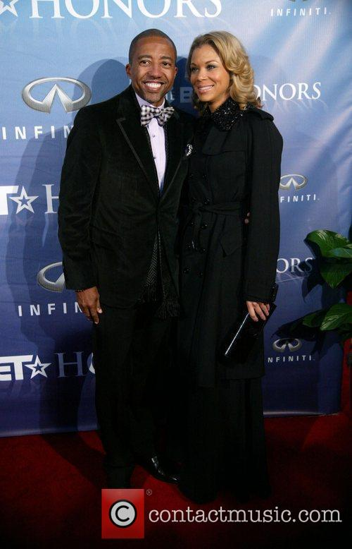 Kevin Lyles and Erica Jones The BET Honors...