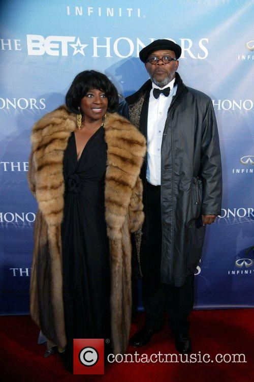 Samuel L Jackson and guest The BET Honors...