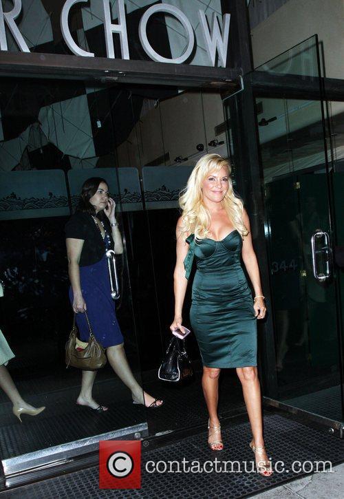 Bridget Marquardt leaving Mr Chow restaurant Los Angeles,...