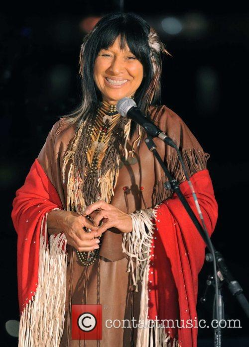 Buffy Sainte-Marie received the Lifetime Contribution to Aboriginal...