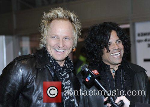 Matt Sorum of Gun's N Roses and Stevie...