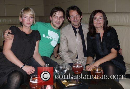 Franz Dinda, girlfriend Anja, Hans-Werner Meyer, Jacqueline Macaulay...